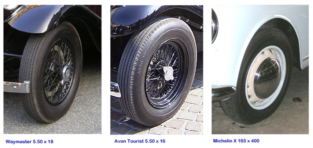 Vintage, PVT and Classic tyres